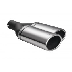Endrohr Ultersport N2-54P* Oval 220x80mm