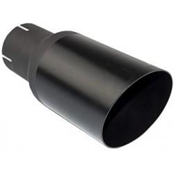 Auspuffblende Endrohr NBL1-90-1* schwarz matt rund abgeschrägt 90mm